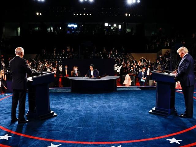 À la Une: un débat presque normal entre Donald Trump et Joe Biden