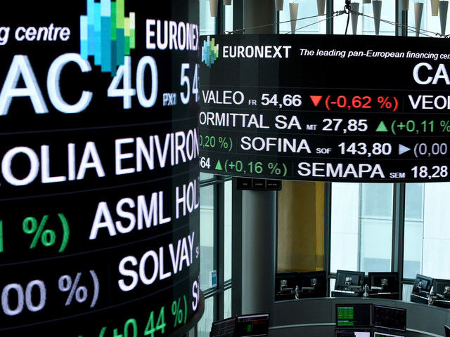 La Bourse de Paris toujours en retrait (-0,62%) à mi-séance