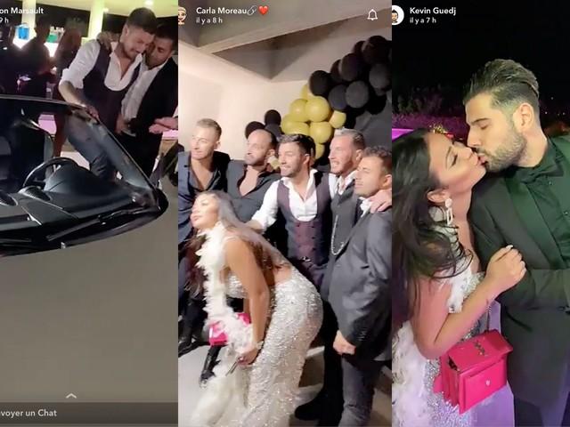 Voiture de luxe, Maeva Ghennam embrasse un garçon… Découvrez les images de l'incroyable anniversaire de Kévin Guedj !