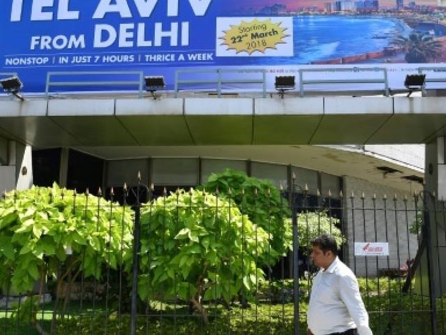 Premier vol New Delhi-Tel Aviv après le survol de l'Arabie saoudite