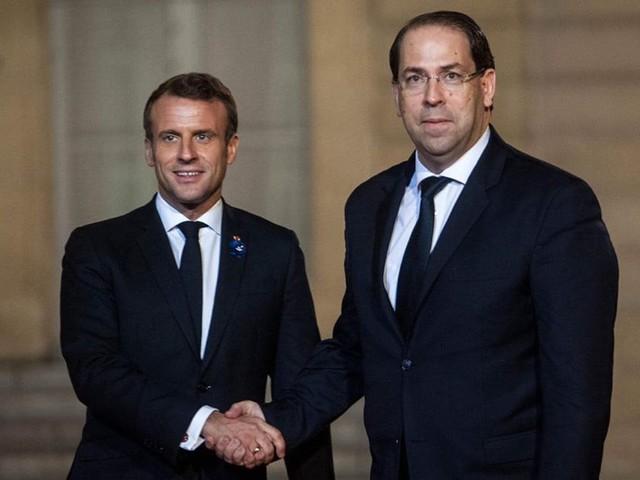 Tunisie – Youssef Chahed reçu par Emmanuel Macron à l'Elysée