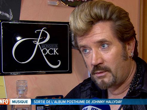 """Ce fan inconditionnel de Johnny Hallyday découvre son album posthume: """"Sa voix est extraordinaire"""""""