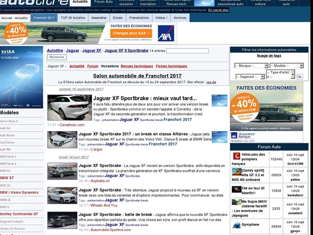 Jaguar XF Sportbrake : mieux vaut tard...