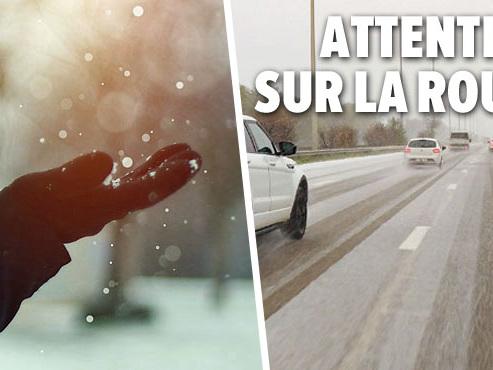 Météo: la neige arrive en Belgique