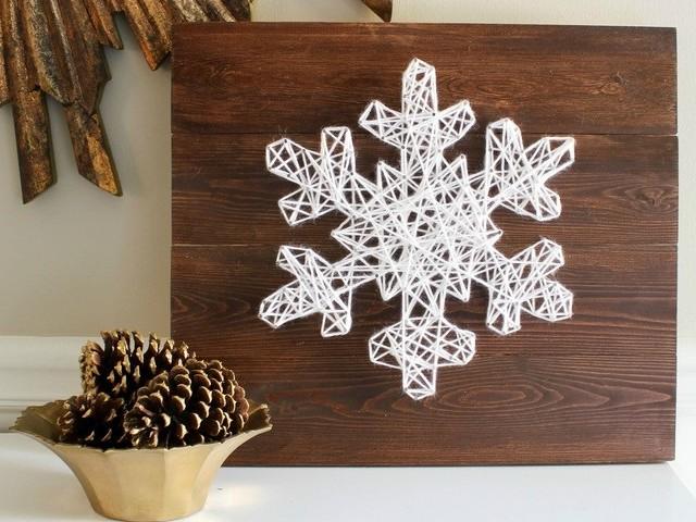 String art Noël : succombez au charme de cette création artisanale et réveillez la déco festive !