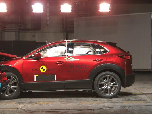 Euro NCAP : 4 étoiles pour la Corsa, le Mazda CX-30 proche de la perfection