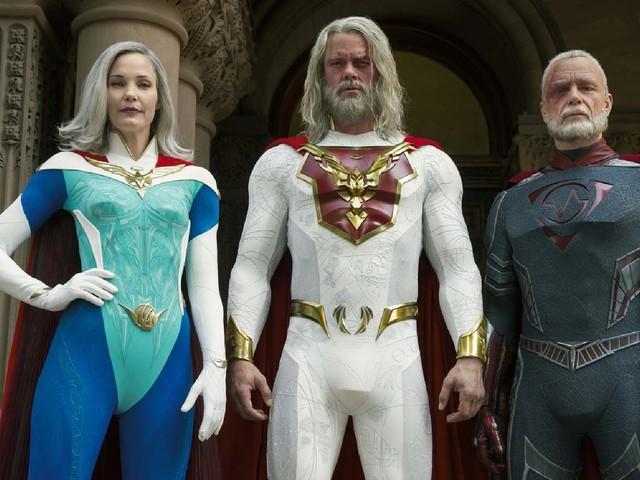 Jupiter's Legacy sur Netflix: les super-héros aussi ont leur fardeau familial