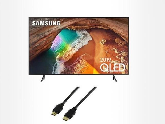 TV QLED 55″ Samsung QE55Q60 à 849.90 € sur Rue du Commerce