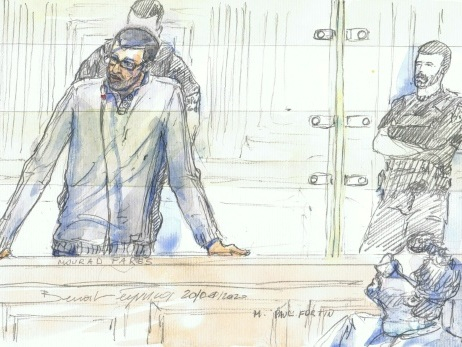 """A son procès, les """"regrets"""" de l'ex-recruteur jihadiste Mourad Farès"""