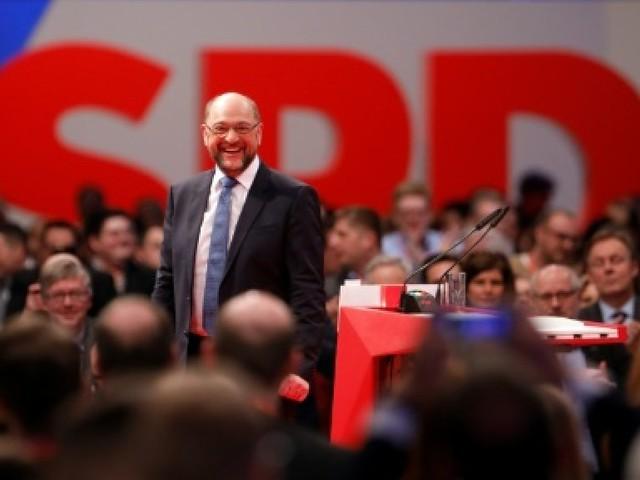 Allemagne: le patron du SPD plaide pour des discussions avec Merkel