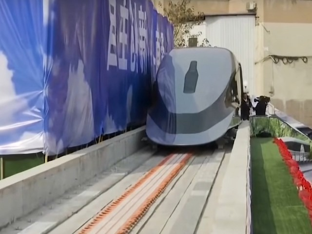La Chine dévoile son train Maglev pouvant rouler à 620 km/h