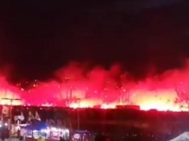 Ligue des champions: le car de l'Atlético Madrid accueilli par une spectaculaire haie d'honneur de fumigènes (vidéos)