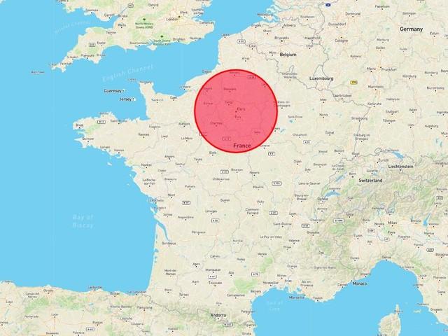 L'énormité des incendies en Australie vue d'une carte de France