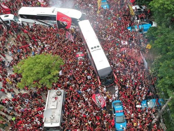 Foot - Libertadores - Copa Libertadores: la finale entre River Plate et Flamengo sous haute sécurité