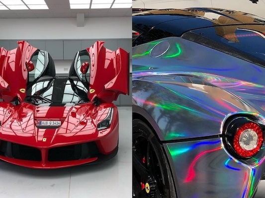 Aubameyang a transformé sa Ferrari LaFerrari et cela fait réagir