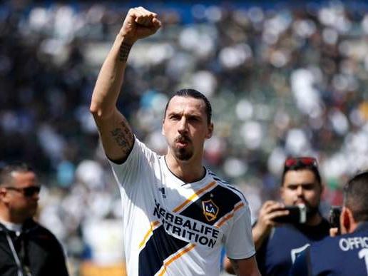 Football: Zlatan Ibrahimovic annonce son départ du Los Angeles Galaxy