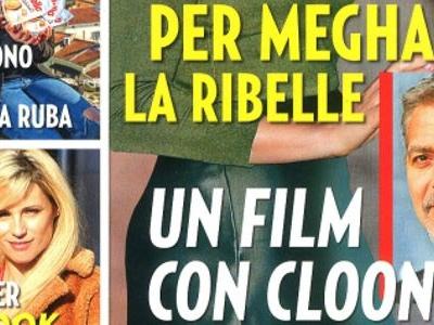 George Clooney, le SOS du prince Harry, un film avec Meghan Markle, ça se précise (photo)