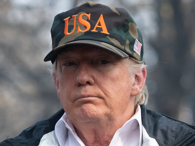 Malgré les incendies en Californie, Trump n'a pas changé d'avis sur le réchauffement climatique