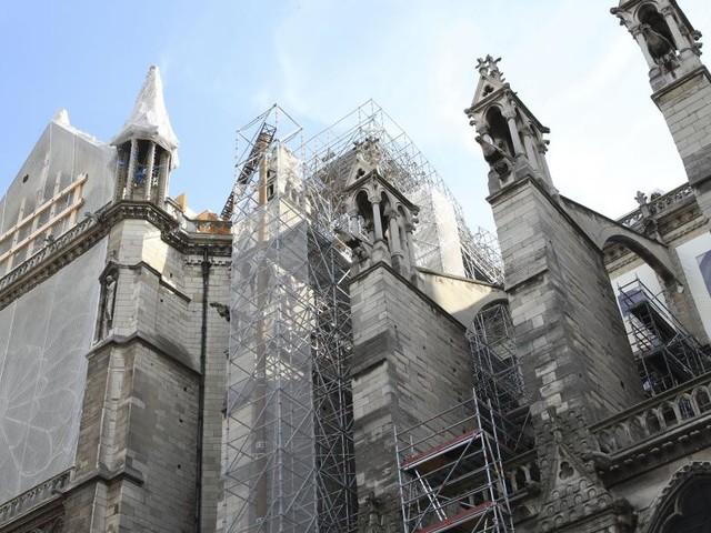 Pas de «surcontamination» au plomb chez les enfants près de Notre-Dame de Paris