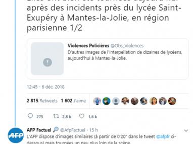 Humiliations policières contre les lycéens, Barbier et Giesbert complices, par Frédéric Lemaire, Pauline Perrenot