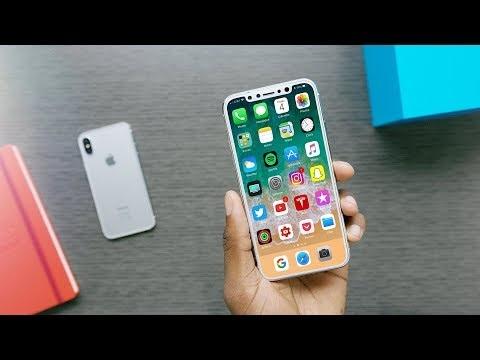 En manque d'images de l'iPhone 8 ? En voici de nouvelles dont la vidéo d'une maquette en version blanche