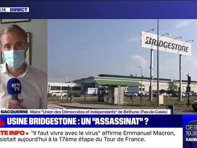 """Bridgestone: le maire de Béthune considère la fermeture de l'usine comme """"une forme d'humiliation"""""""
