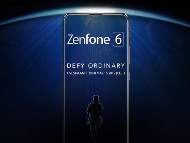 L'Asus Zenfone 6 sera présenté le 16 mai prochain