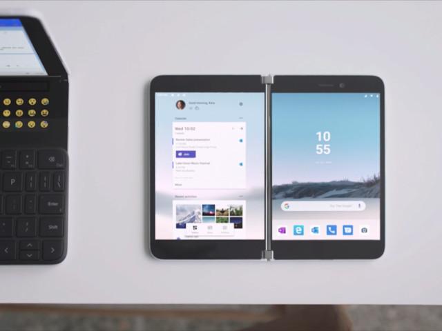 Microsoft Surface Duo : voilà à quoi ressemble l'interface d'Android sur le futur smartphone à deux écrans