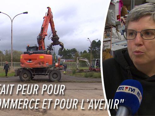 Les travaux sur la nationale 50 entre Mons et Ghlin démarrent lundi: riverains et commerçants sont inquiets (vidéo)