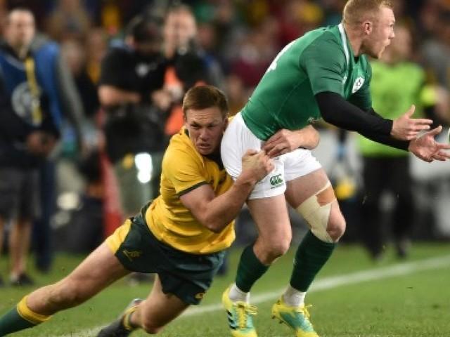 Rugby: Sexton et l'Irlande s'offrent l'Australie et la série