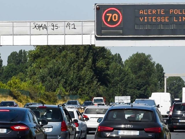 Pollution à l'ozone : la circulation différenciée mise en place dimanche en région parisienne