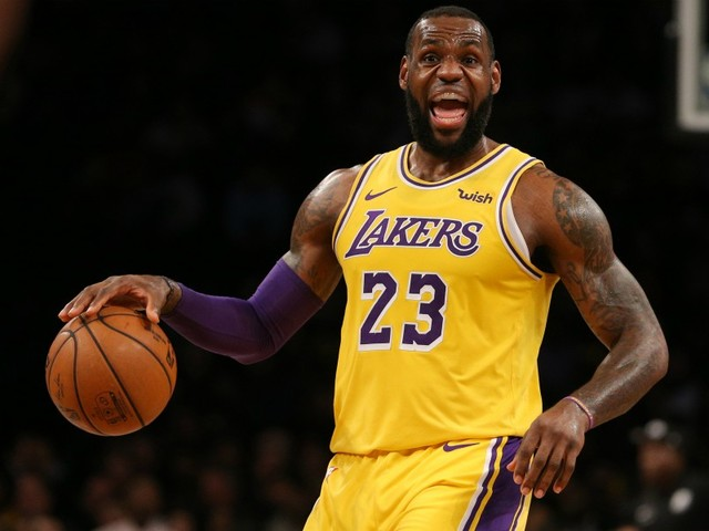 Lakers: James toujours forfait