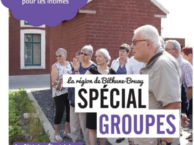 Béthune-Bruay Tourisme édite sa brochure groupes 2020
