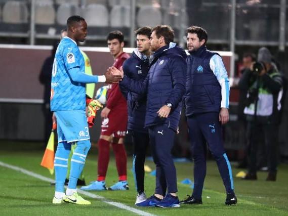 Foot - L1 - OM - André Villas-Boas sur la blessure de Steve Mandanda (OM): «Ça n'a pas trop gonfl頻