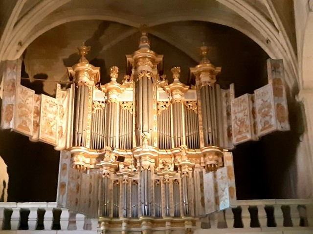 PHOTOS - L'orgue de la cathédrale Saint-Théodorit d'Uzès impatient de retrouver son public