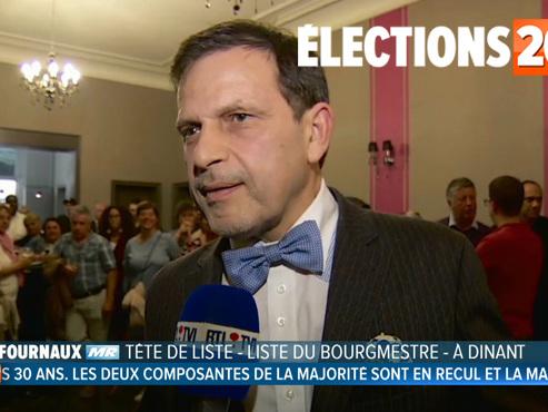 """Richard Fournaux perd son mayorat après 24 ans à la tête de Dinant: """"Je suis malheureux"""" (vidéo)"""