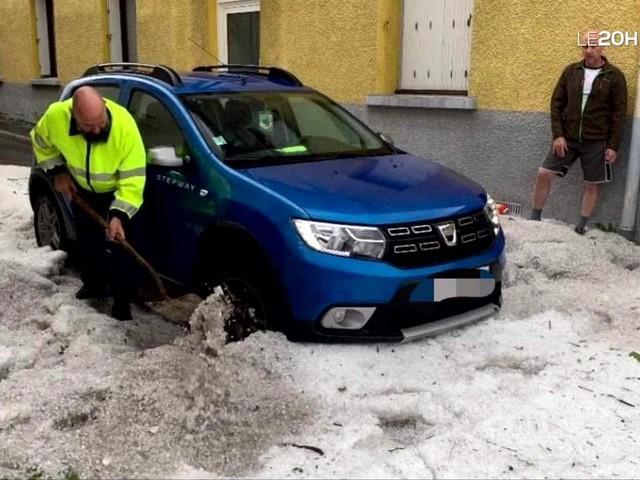 Des dégâts importants causés par de violents orages de grêle dans la Drôme