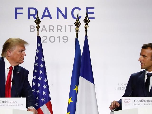 G7: ce qu'il faut retenir des déclarations de Macron et Trump