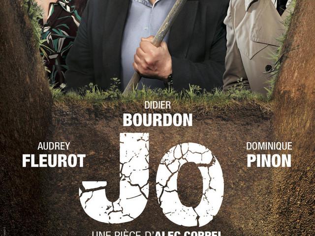 La pièce Jo, avec Didier Bourdon, diffusée samedi 9 novembre en direct sur France 2.