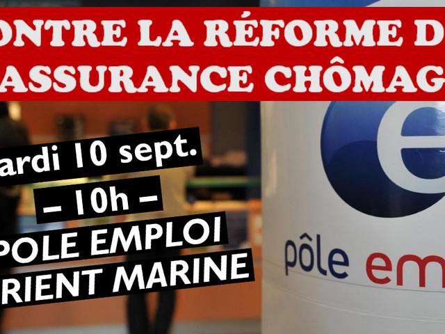 Le 10 septembre : Toutes et tous contre la réforme de l'assurance chômage