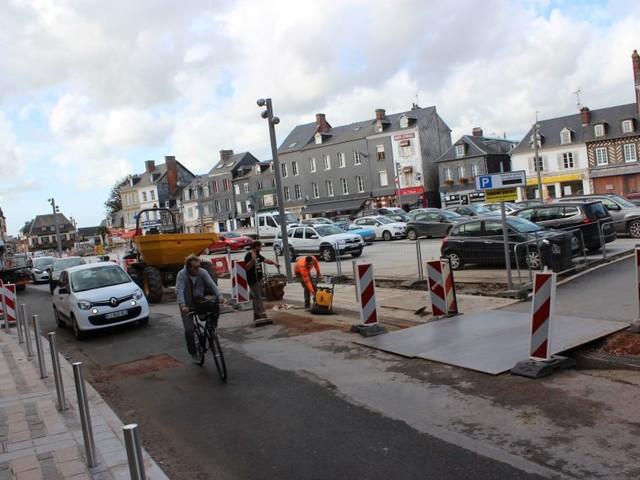 La traversée du centre-bourg de Beuzeville perturbée cette semaine