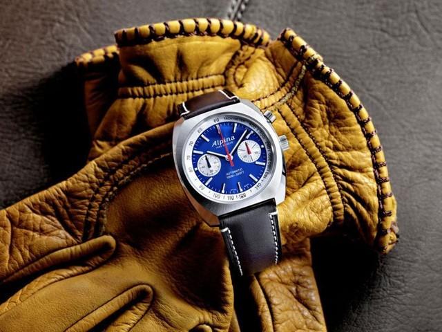 Startimer Pilot Heritage Chronographe chez Alpina : le vol du temps