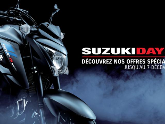 Suzuki Days : encore un mois pour profiter des promos