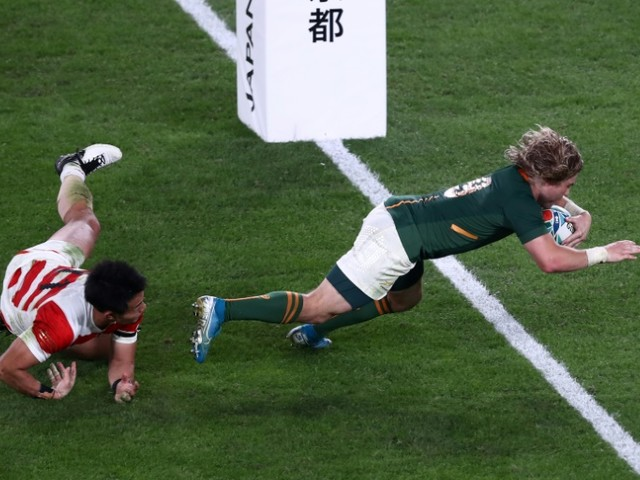 Mondial de rugby: Faf De Klerk, chauffeur poids lourds sud-africain