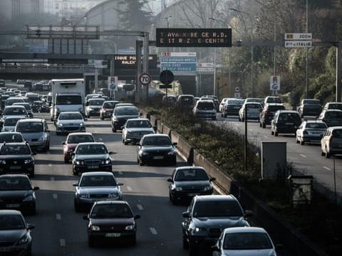 La circulation différenciée mise en place mercredi en région parisienne
