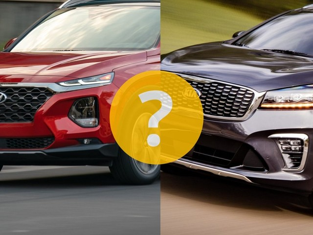 Kia Sorento ou Hyundai Santa Fe?