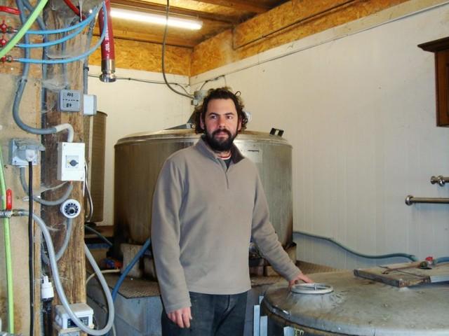 Installé à Martel dans le nord du Lot, Julien Tardieux raconte la fabrication de ses douze bières!