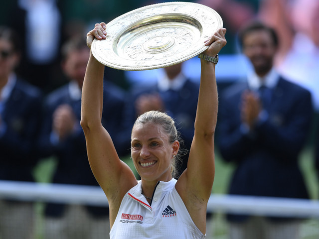 Wimbledon : Angelique Kerber remporte le tournoi en battant Serena Williams en finale
