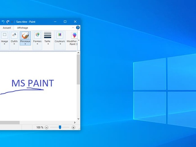 Windows 10 relègue Paint et WordPad en 2e division