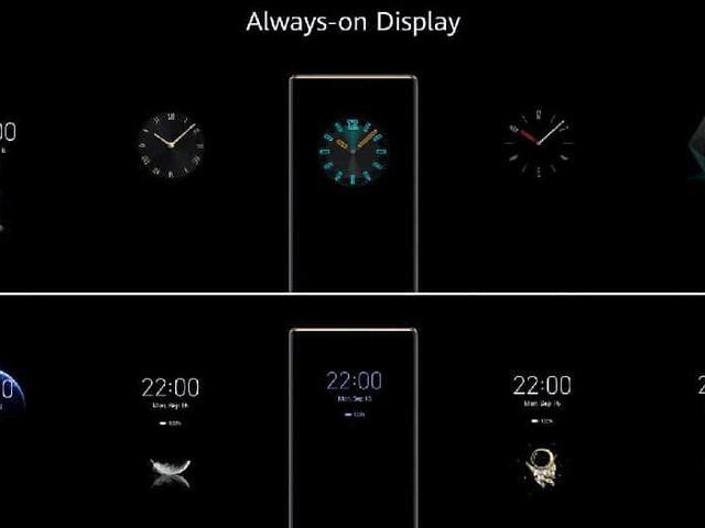 EMUI 10 : Huawei va déployer le nouvel écran Always-On sur 8 smartphones début 2020